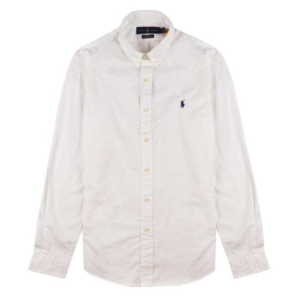 Polo Ralph Lauren LS Twill Slim Fit Shirt White
