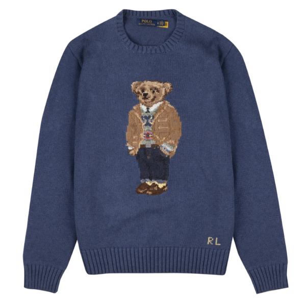 Polo Ralph Lauren Polo Bear Sweater Rustic Navy Heather