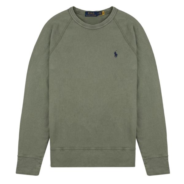 Polo Ralph Lauren Spa Terry Sweatshirt Cargo Green