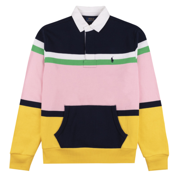 Polo Ralph Lauren Striped Rugby Shirt Cruise Navy Multi