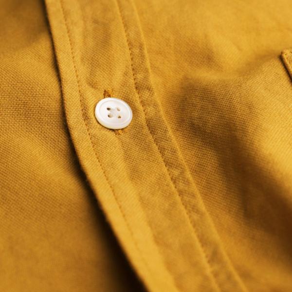 Portuguese Flannel Belavista LS Oxford Shirt Mustard