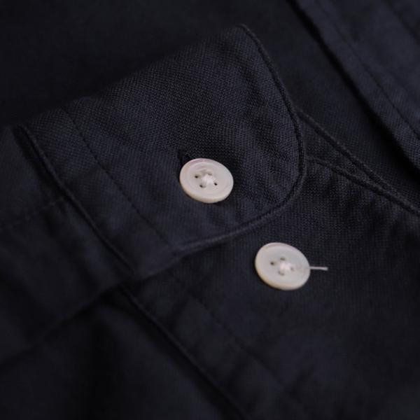 Portuguese Flannel Belavista LS Oxford Shirt Navy