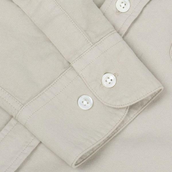 Portuguese Flannel Belavista LS Oxford Shirt Sand