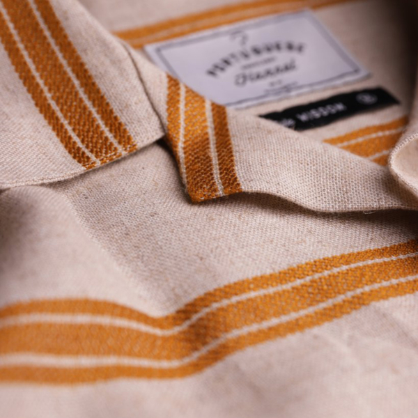 Portuguese Flannel San Francisco SS Shirt Gold