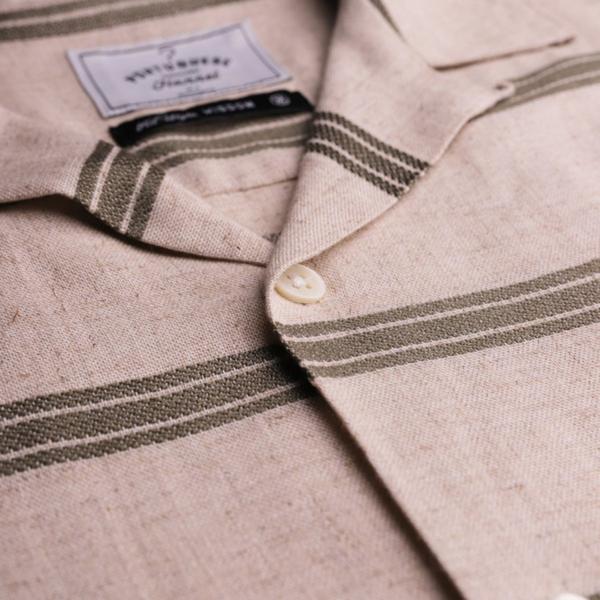 Portuguese Flannel San Francisco SS Shirt Olive