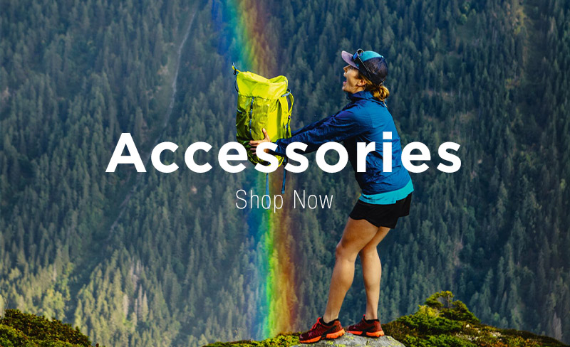 Rainbow Coloured Patagonia Bags and Accessories