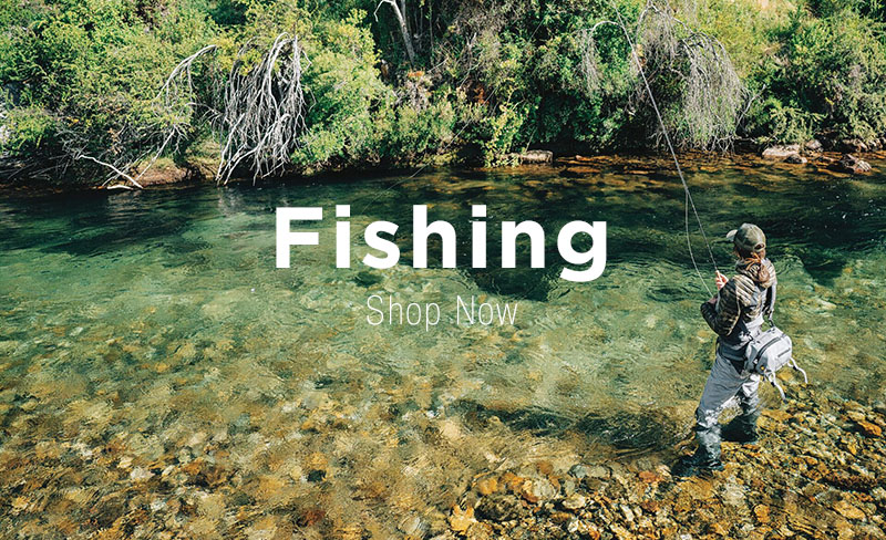 Man River Fishing Wearing Patagonia Outdoor Clothing, Waders and Backpack