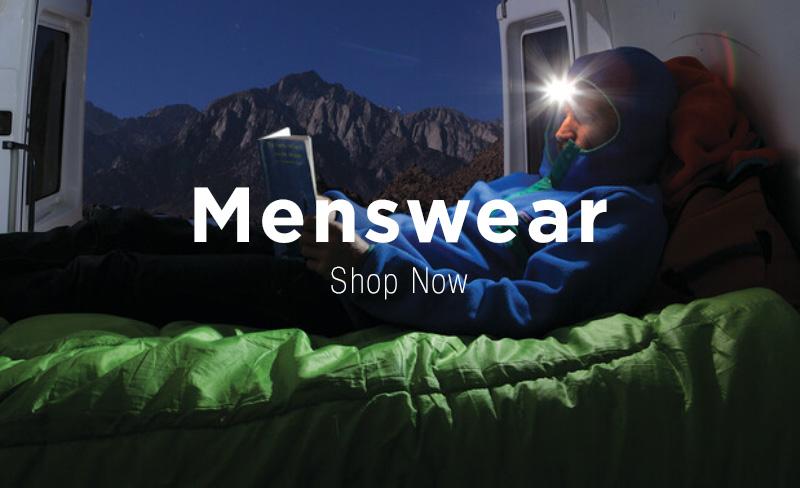 Wearing Patagonia Outdoor Menswear Clothing