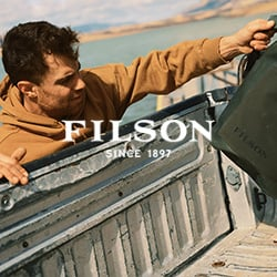 Weatherproof Filson Fishing Jacket and Duffle Bag