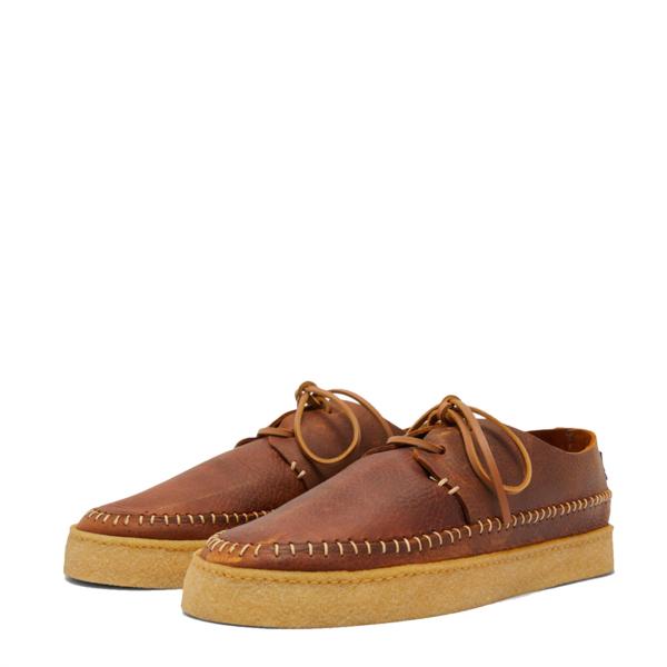 Yogi Hitch Leather Shoe Chestnut Brown