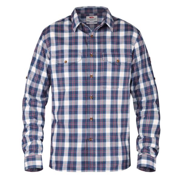 Fjallraven Singi Flannel Shirt Uncle Blue