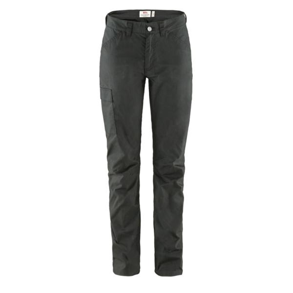 Fjallraven Womens Vardag Lite Trousers Dark Grey