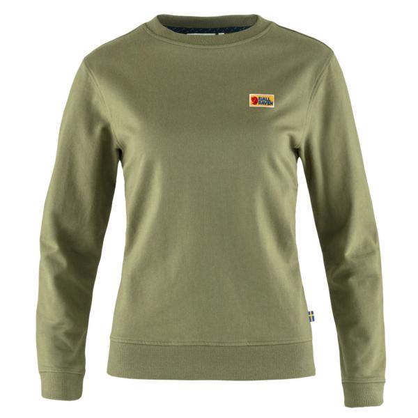 Fjallraven Womens Vardag Sweater Green
