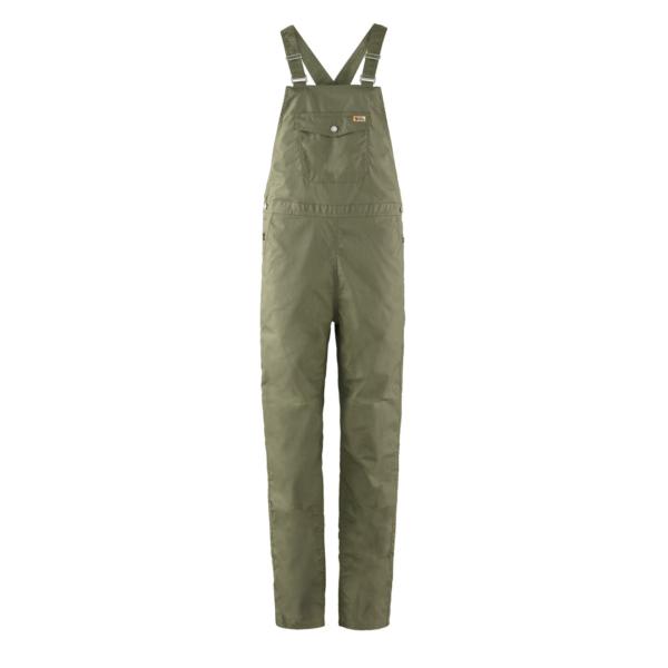 Fjallraven Womens Vardag Dungaree Trousers Green