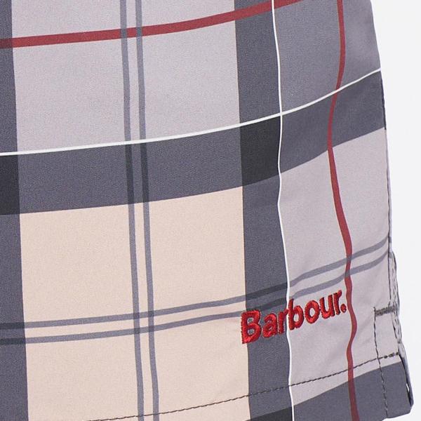 Barbour Tartan Swim Short Dress Tartan With Barbour Branding Label