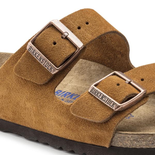 Birkenstock Arizona SFB Sandal Mink Suede