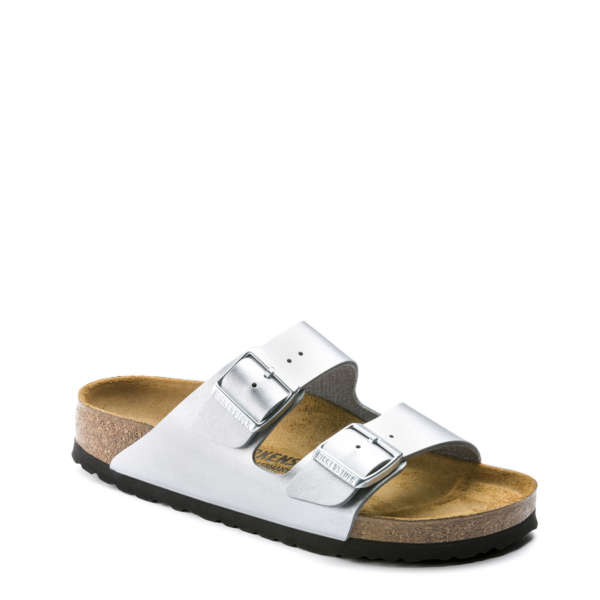 Birkenstock Womens Arizona Sandal BF Silver