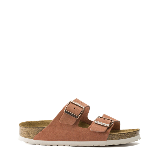 Birkenstock Womens Arizona Soft Footbed Earth Red