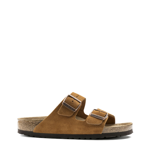 Birkenstock Womens Arizona Soft Footbed Mink