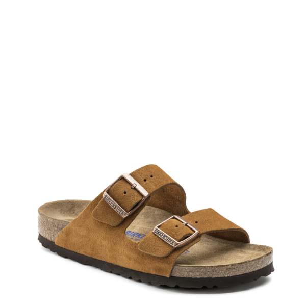 Birkenstock Womens Arizona Soft Footbed Mink