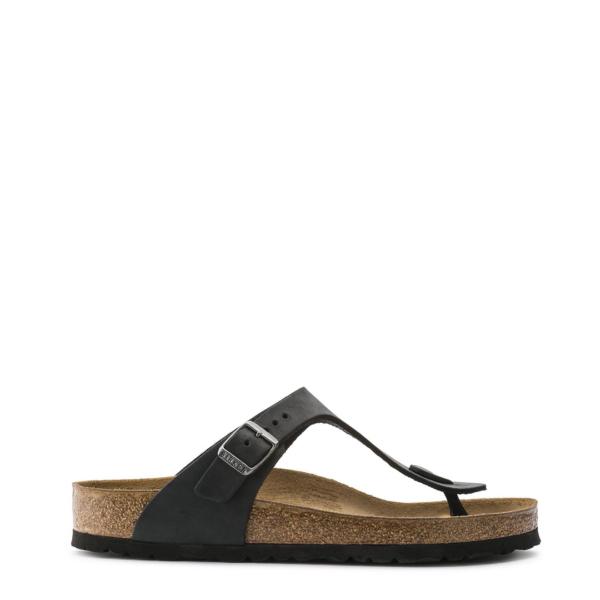 Birkenstock Womens Gizeh Sandal Oiled Black
