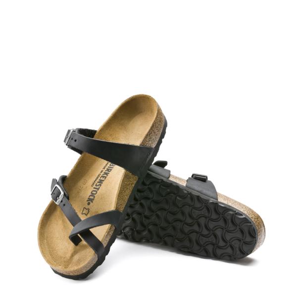 Birkenstock Womens Mayari Sandal Oiled Black