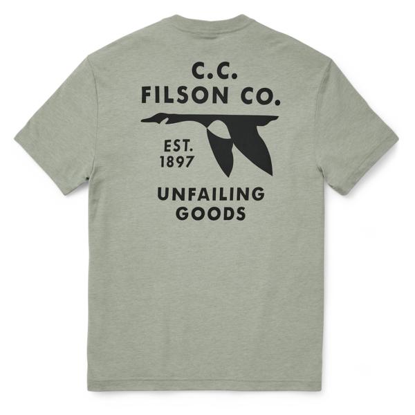Filson Buckshot T-Shirt Desert Sage