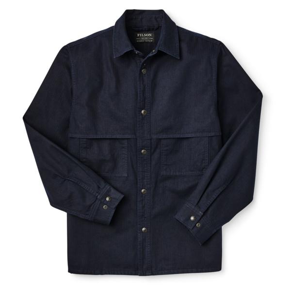 Filson Herringbone Jac-Shirt Night Sky