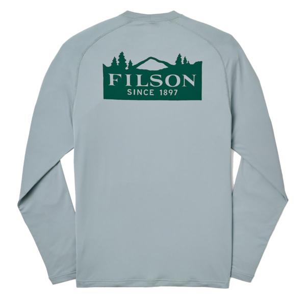 Filson Long Sleeve Barrier T-Shirt Flint Gray