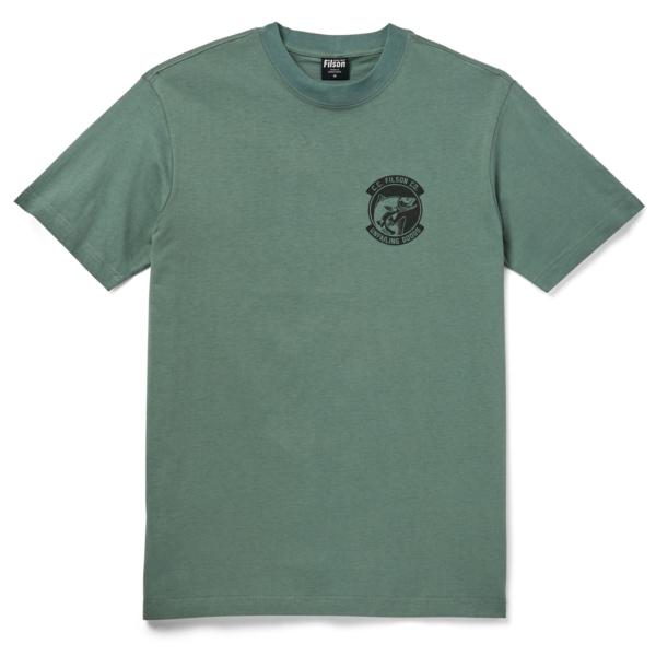 Filson S/S Ranger Graphic T-Shirt Lake Green