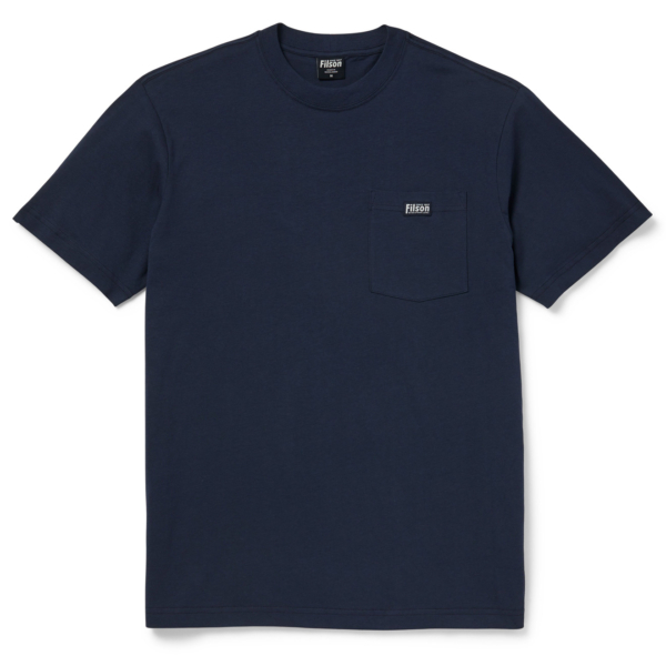 Filson S/S Ranger Solid One Pocket T-Shirt Harbor Blue