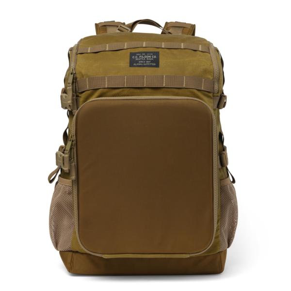 Filson Tin Cloth Tool Backpack Dark Tan
