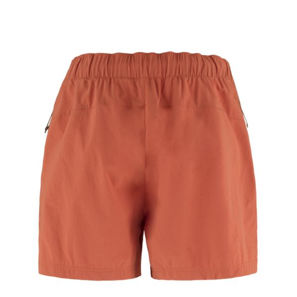 Fjallraven Womens High Coast Relaxed Shorts Rowan Red