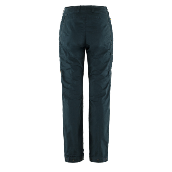 Fjallraven Womens Vidda Pro Ventilated Trousers Short Dark Navy