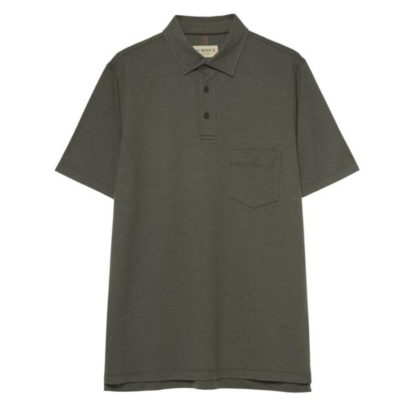 James Purdey Polo Shirt w/ Pocket Green
