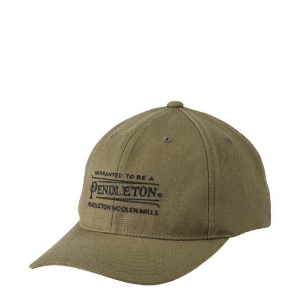 Pendleton Embroidered Hat Olive Green
