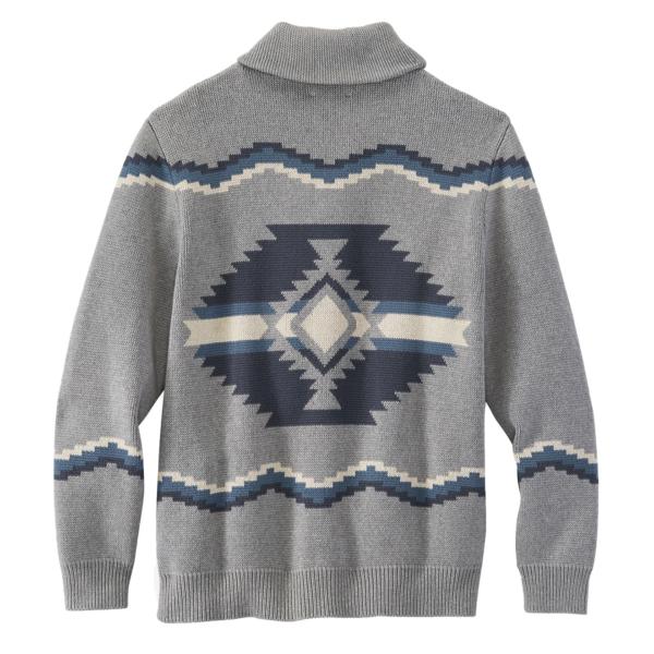 Pendleton Highland Cardigan Grey Multi