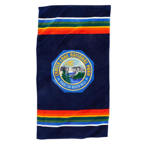 Pendleton Printed Beach Towel Crater Lake