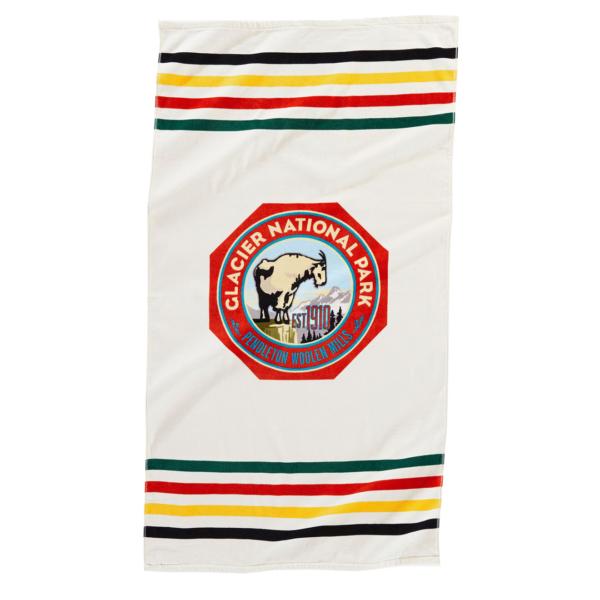 Pendleton Printed Beach Towel Glacier