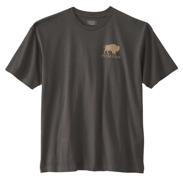 Pendleton Sierra Ridge Bison Tee Vintage Black