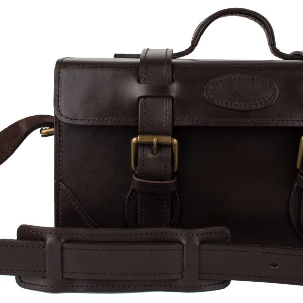 Brady Shooting Cartridge Magazine Havana Leather