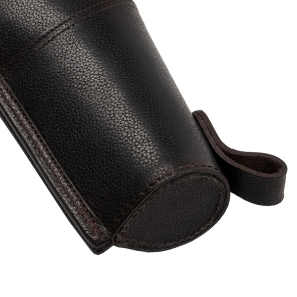 Wickham Leather Buckle and Zip Gunslip 32 inches Brown
