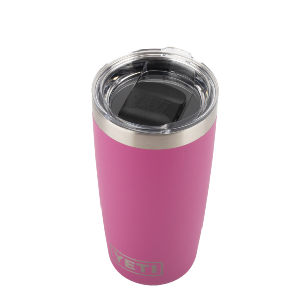 Whether you are rushing out of the door with your morning coffee to work, or waking up in the highlands ready to take on your trek of the day, the YETI Rambler Tumbler needs to be your outdoor companion. Features Durable stainless steel Double-all vacuum Hot beverages kept hot Cold beverages kept cold MagSlider™ Lid: Extra protection 10 oz