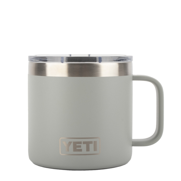 YETI Rambler 14oz Mug MS Granite Grey