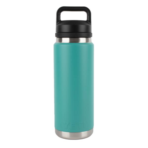 YETI Rambler 26oz Bottle Chug Aquifer Blue
