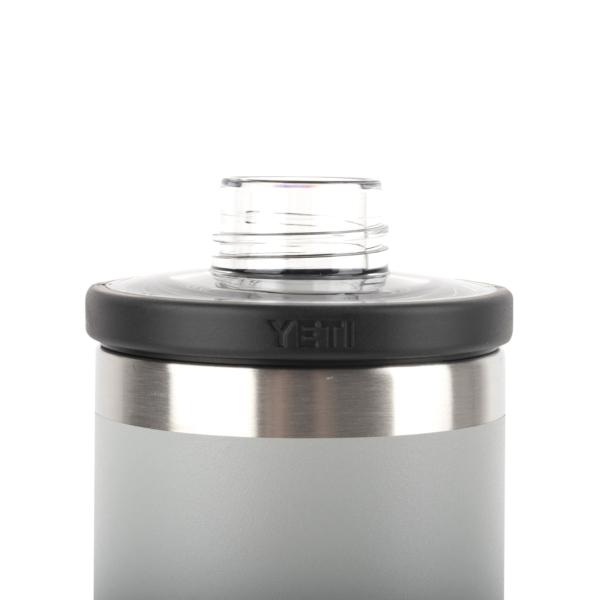 YETI Rambler 18oz Bottle Chug Granite Grey