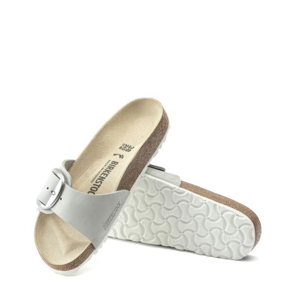 Birkenstock Womens Madrid Big Buckle Narrow Sandal Dove Grey