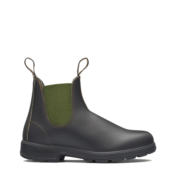 Blundstone Womens Original Chelsea Boot #519 Stout Brown / Olive