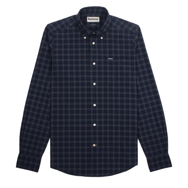 Barbour Lomond Tailored Shirt Midnight
