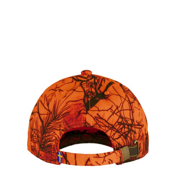 Fjallraven Lappland Camo Cap Orange Camo